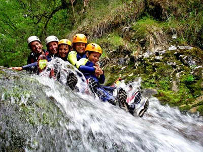 Canyoning in family in Asturias 5 h