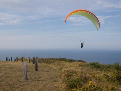 10m Paragliding in Gijón + HD video