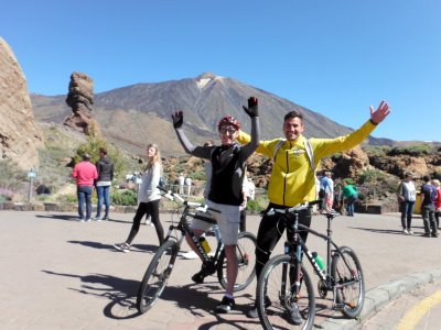 Bycicle Route 70 km Teide National Park