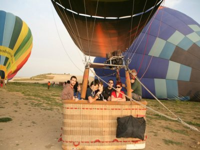 Ride on a Balloon, in Madrid, for Companies, 10pp