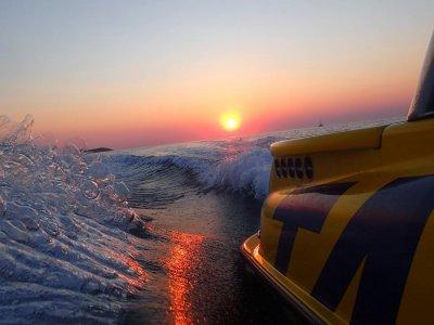 Watercraft tour on Ibiza coast, Es Vedra 1 h.