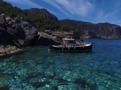 Speed boat trip, Ibiza Coast for children