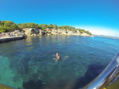 Speed boat trip, Sunset Ibiza