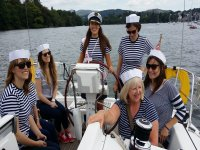 Luxury Yacht sailing Windermere 3 hours