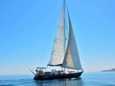 Stag party in a sailing trip in Murcia