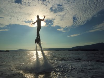Flyboard class in Villagracia for 30 minutes