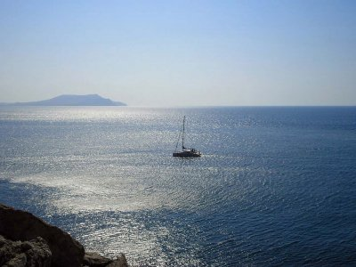 3h sailing boat tour for groups in Alicante