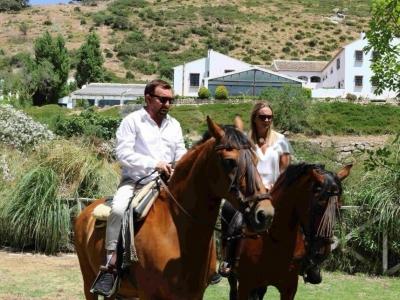 Horse riding tour 1h El Torcal Antequera