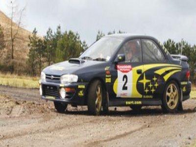 Knockhill Racing Circuit Rally Driving