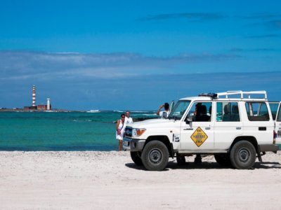 Trip to the secret beaches in Fuerteventura in 4x4