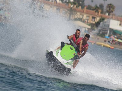 Jet boat + jet ski + banana for 2, Málaga