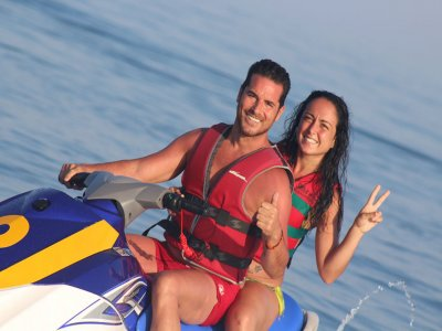 One-Seater Jet Ski Trip in Torremolinos 30 min