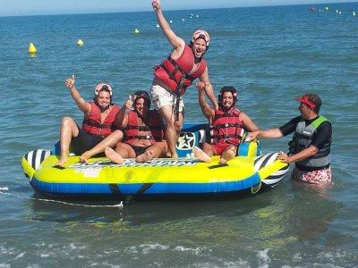 Inflatable Aqua Slider in Torremolinos