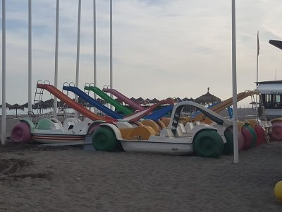 Pedal Boat Rental for 5 People in Torremolinos
