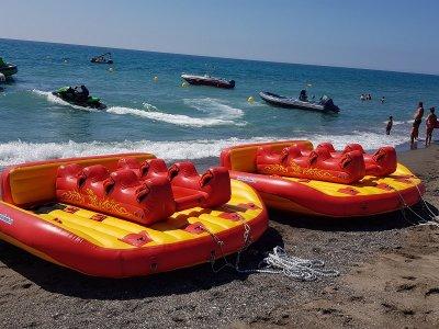 Towable Mechanical Bull boat Costa de Sol
