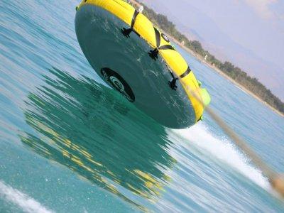 Ride an Inflatable Crazy Bed, Costa del Sol
