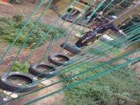 The tyre bridge