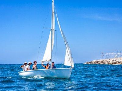 Sailing boat baptism in Puerto de Mazarrón