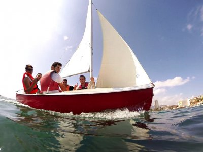 Initiation course to light sailing in Mazarrón