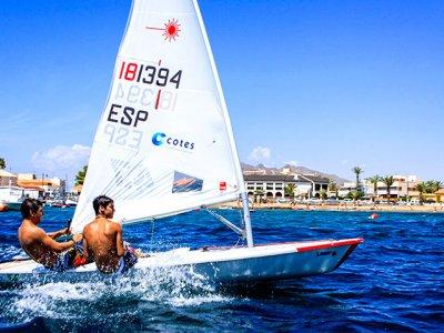 Improvement sail course in Mazarrón