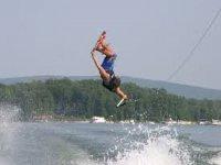 Wakesurf trick