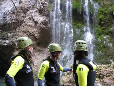 Canyoning Course and Descent in Sierra de Cazorla