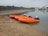 Powerboating with Edgbaston Watersports.