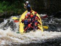 Whtie water rafting