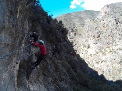 5h Via ferrata in Almería