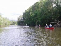 Do some canoeing in groups