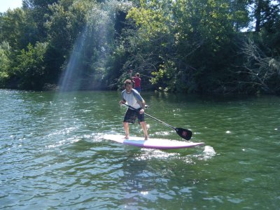 Paddle surf beginners course + excursion Murcia