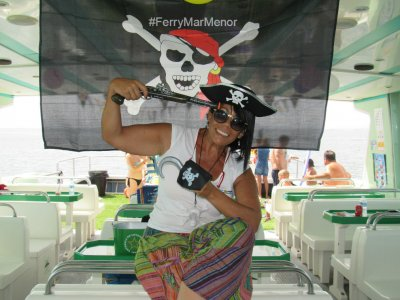 Pirate Party for Kids on a Ferry, Mar Menor