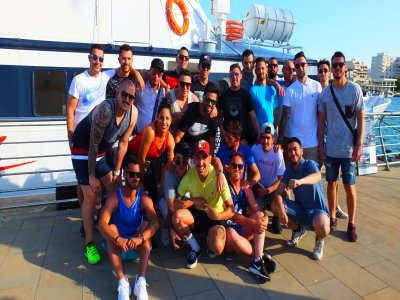 Paintball, Catamaran party+lunch in Gandia
