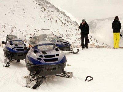 Nieve en Moto