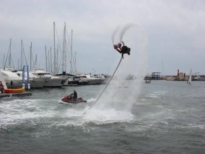 Flyboarding for two in Costa Dorada