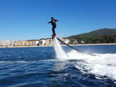 Flyboard in the Atlantic, pairs, with photo