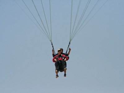 Initial training in paragliding, Alarilla
