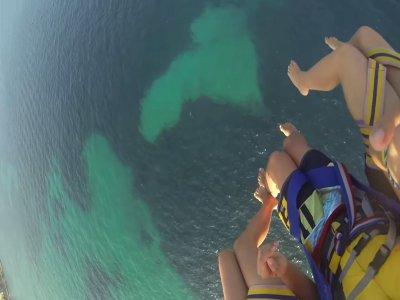Sea sports Mallorca Parascending
