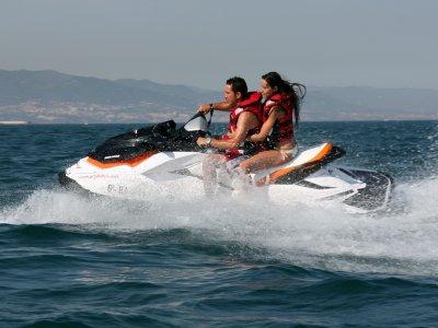 120 min 2-seater Jet ski in south Menorca