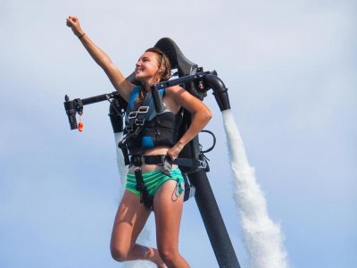 30-min Fly with Jet Pack in Son Xoriguer