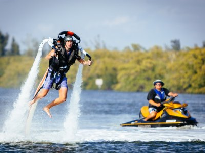 Try a water jetpack for 1 hour in Minorca