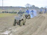 Quad riding in East Sussex.