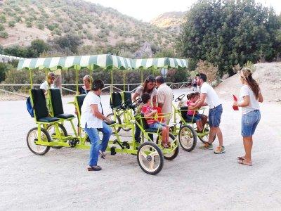 Quadricycle Via Verde for 2 people full days