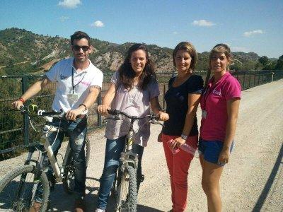 Bike Rental in La Vía Verde, Olvera 1 day