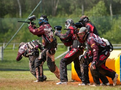 200 ball Paintball game Olvera 2 hours