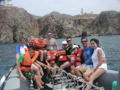 Scuba Diving baptism in Almería in September