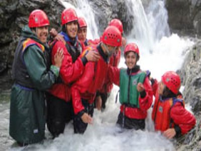 Ascent Training Canyoning