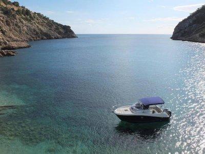 4h private charter rent in Formentera