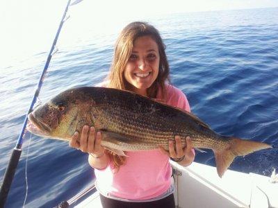 Bottotm fishing in Ibiza 8 hours