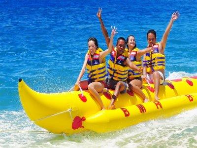Banana boat ride in Valencia 45 minutes